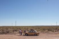 Parece que el tiempo se congeló aqui en las carreteras Argentinas, y de pronto me veo con mis padres viajando a galicia en pleno mes de Julio.