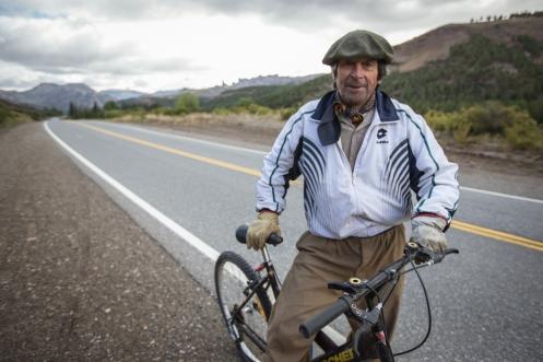Gaucho de descendencia Vasca que me acompañó buena parte del camino del camino a Bariloche, hasta que llegamos a su casa y alli nos despedimos.