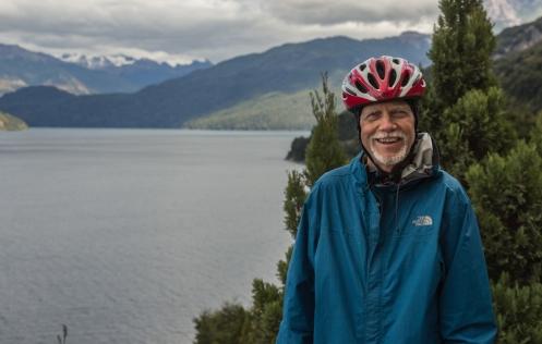 Peter Brother partió de Canada con su bicicleta, se dirige al sur.