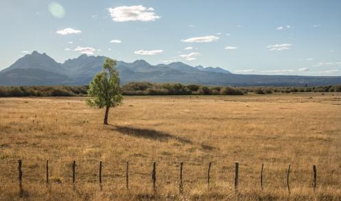 Camino al paso fronterizo que me llevará a Chile, el paso Futaleufú.
