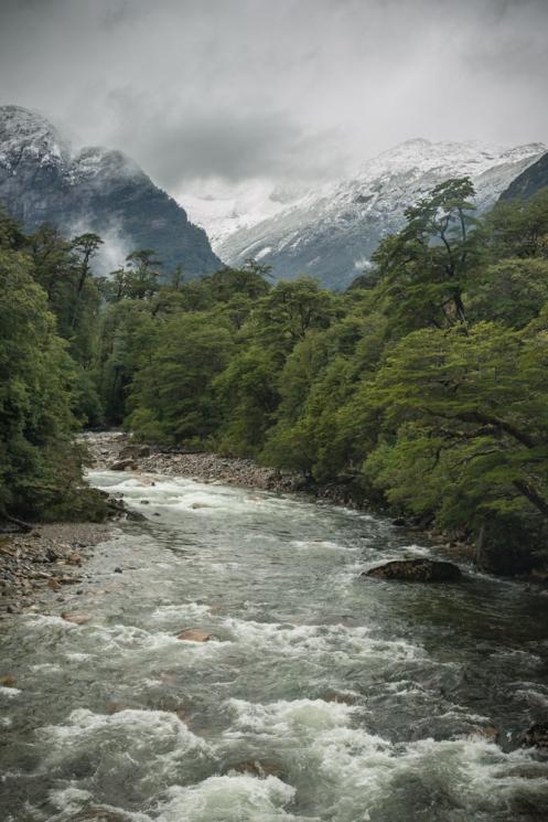 La lluvia sigue ofreciendo hermosos paisajes de los que disfrutar.