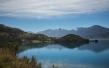 Los colores de este lago General Carrera parecen sacados de un cuadro.