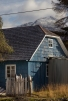 Casas de colores dan vida a este apartado pueblo de la Patagonia Chilena.