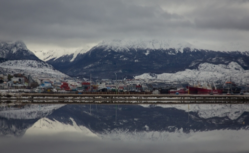 Ushuaia. Llamada la ciudad del fin del mundo.