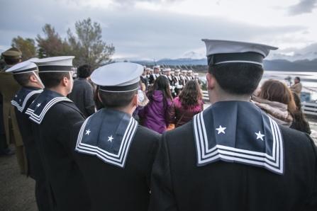 Desfile militar y de todo el pueblo por el aniversario de la batalla naval de Iquique.