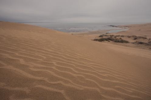 Vistas desde una de las dunas