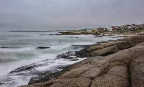 La costa de Punta del Diablo