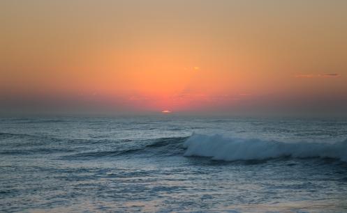 El amanecer en la playa de Teresa fue simplemente.....si, especial también.