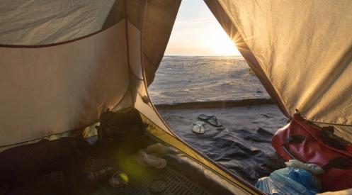 Los amaneceres desde mi casa so los mejores. Playa Matadeiros.