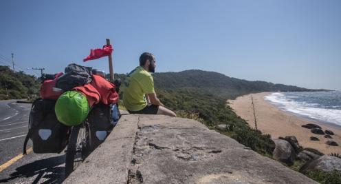 La carretera de Interpraias tiene vistas increíbles para descansar