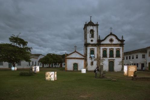 La colonial ciudad de Paraty esta invadida por exposiciones fotográficas el festival Emfoco 2012