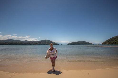 Mi madre, que por cierto se llama María, disfruta de las playas como nadie.