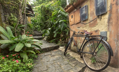 Calles de Abraao, en ilha Grande.