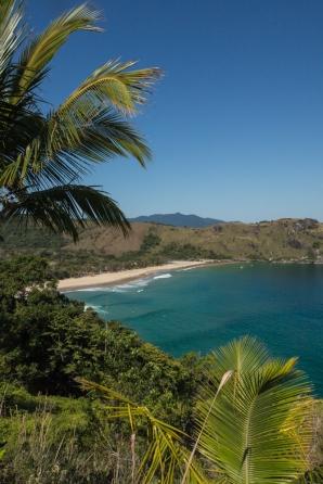 Tras 4 horas de sendero entre la selva, se llega a la playa de Bonete, en Ilhabela.