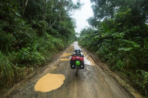 Hay caminos que mojados son mas bonitos