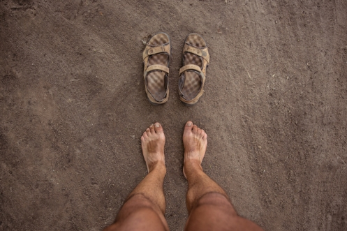 No quitarme mis sandalias en doa semanas de pedaleo tiene sus consecuencias.