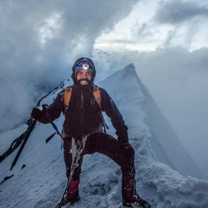 Llegué a la cumbre del Huayna Potosí!