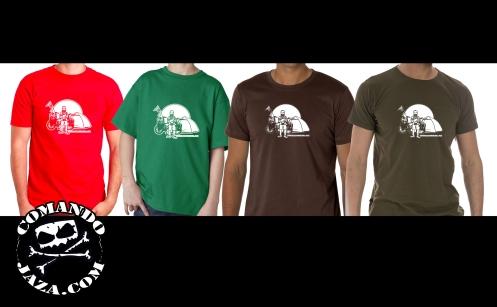 camisetas colores