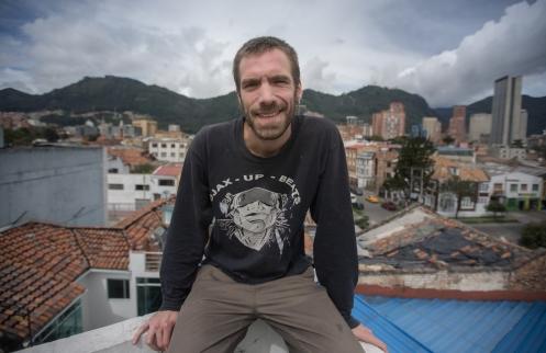 David Meilan es un viejo amigo de España afincado en Bogotá