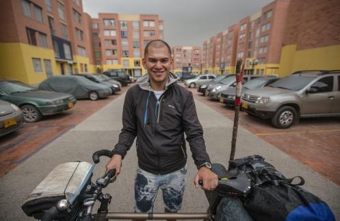 Diego Medina vive en Soacha y disfruto de su hospitalidad en esta ciudad.