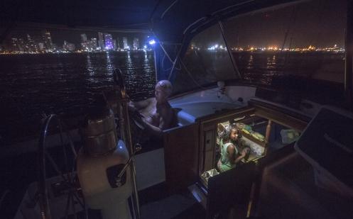 Vivir en un barco, que bonita idea.
