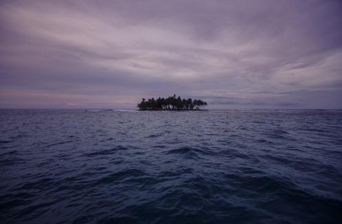 Esta será nuestra isla para hoy. San Blas.