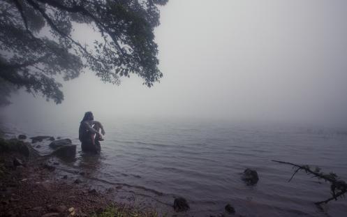 La niebla no me acompañó a disfrutar de las vistas del volván Madera, en cambio sentí que había llegado al mismo paraiso.