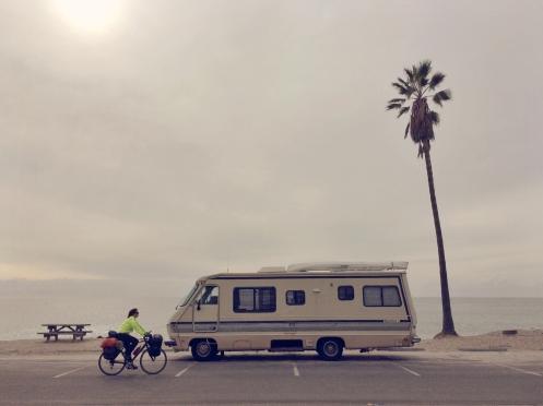 Las autocaravanas son la base de las vacaciones en EEUU.