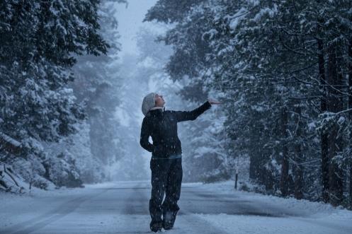 Queríamos que nevara, y nevó.