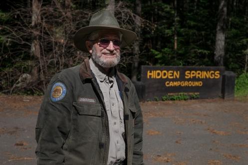 Norberto Olavarria es Ranger de California, y al ver su nombre despues de  30 minutos hablando no podia dejar de fotografiarle.