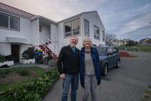 Nicole y Ben nos reciben en su casa con la mejor sonrisa.