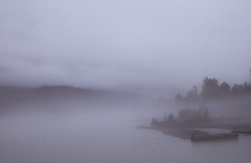 La niebla tiene un encanto muy particular cuando se trata de fotografiarla. No digo lo mismo cuando tengo que pedalear por la carretera.